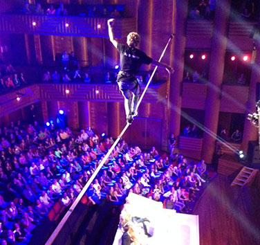 Holland's Got Talent slackline